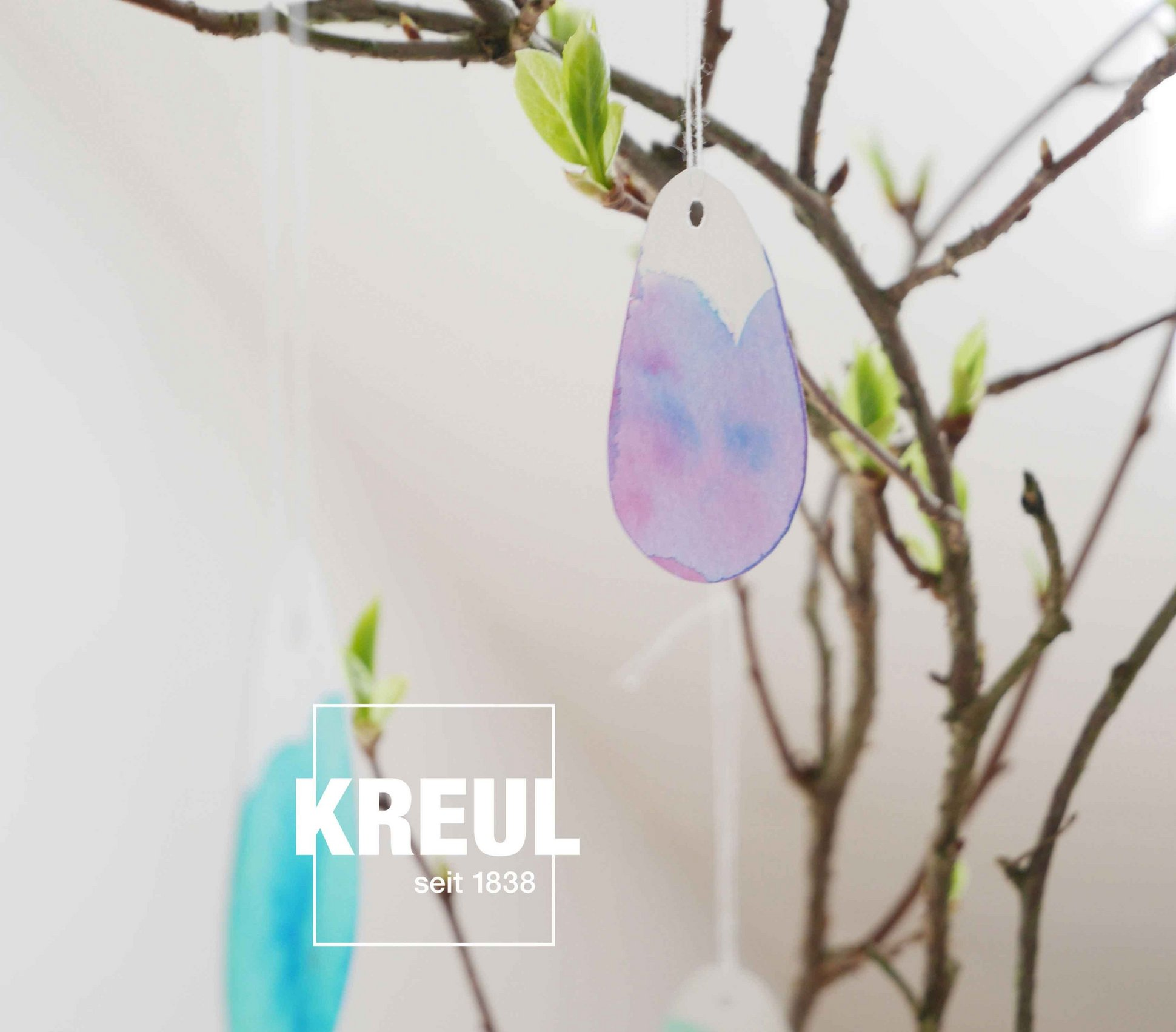 KREUL Watercolor Aquarell Stift basteln Ostern