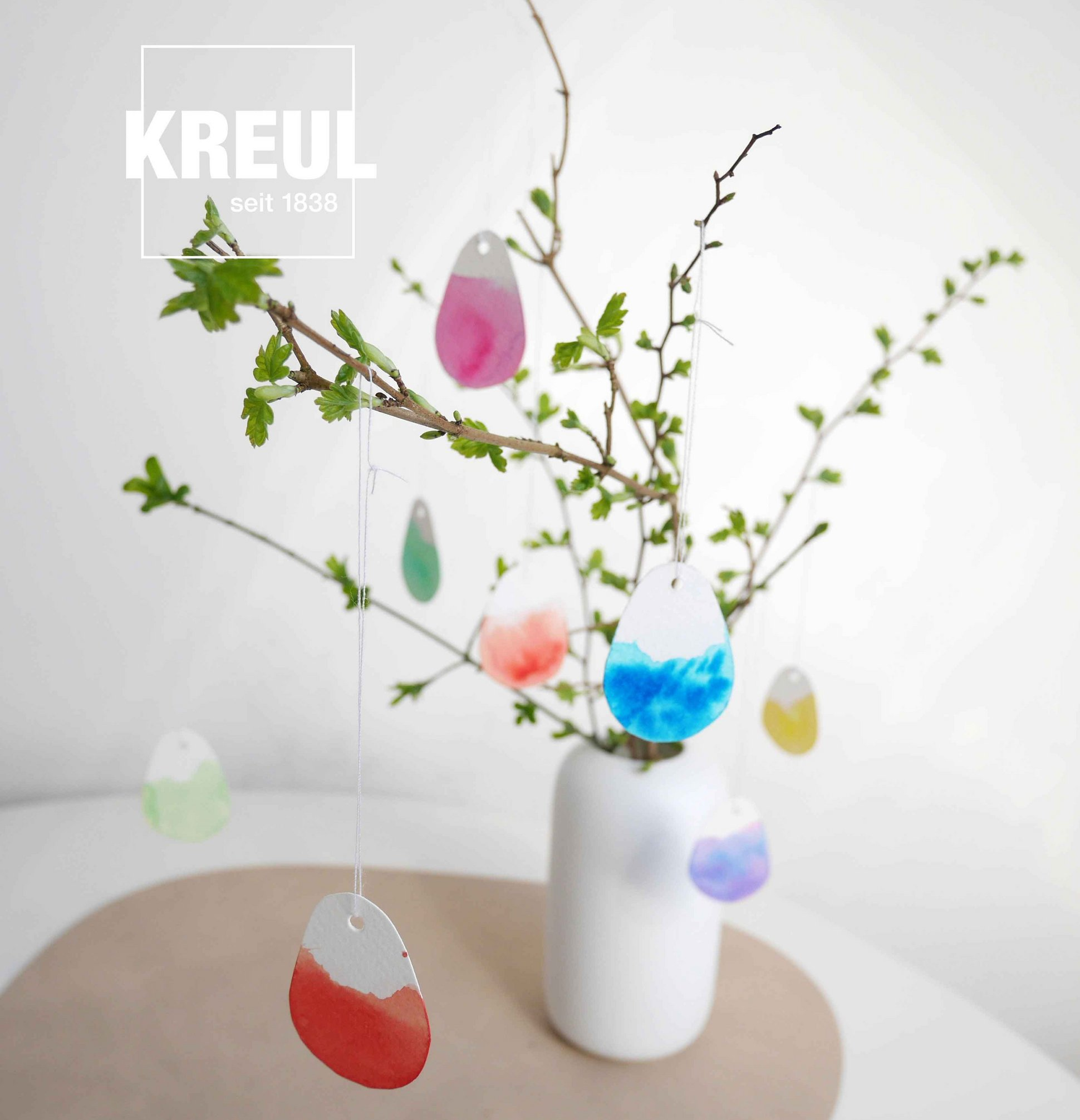 KREUL Watercolor Ostern DIY